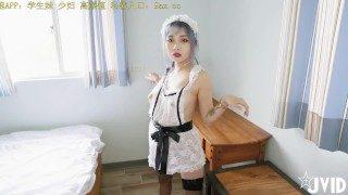 China 中国 【 JVID精 品 】 多 人 混 戰 ! 女 仆 們 很 嗨 ~ 快 來 玩